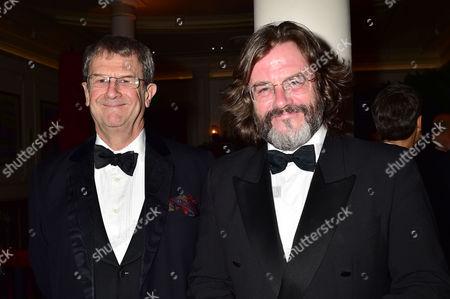 Evening Standard 60th Theatre Awards at the London Palladium Theatre Gregory Doran (r)