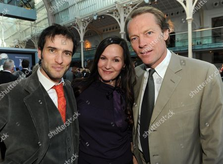 The Evening Standard Drama Awards 2008 at the Royal Opera House Covent Garden London Charlotte Emmerson & Iain Glen