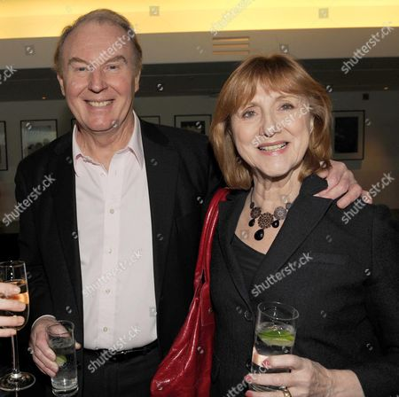 The Evening Standard Drama Awards 2008 at the Royal Opera House Covent Garden London Tim Pigott-smith and His Wife Pamela Miles