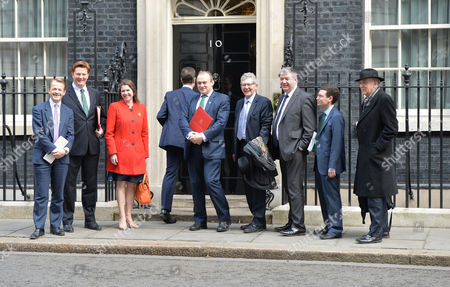 Final Cabinet Meeting of This Government Nick Clegg and His Lib Dem Cabinet Members Pose Up On the Doorstep of Number 10 Downing Street On Their Way in to the Last Joint Cabinet Meeting of This Parliament David Laws Danny Alexander Jo Swinson Nick Clegg Ed Davey Don Foster Alistair Carmichael Simon Wright Dr Vince Cable