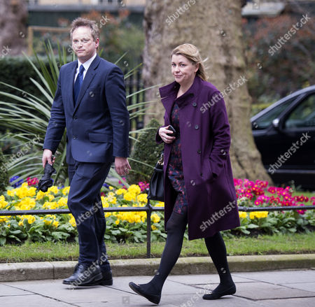 Final Cabinet Meeting of This Government Grant Shapps Mp Party Chairman & Liz Sugg Head of the Pm's Operations
