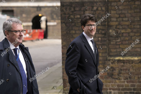 Final Cabinet Meeting of This Government Lynton Crosby David Cameron's Strategist and Lord Andrew Feldman Conservative Party Chairman