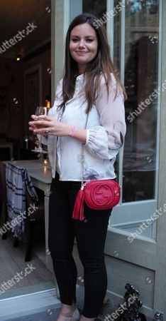 Stock Picture of French Sole and Birchbox Summer Picnic at Number 16 Conservatory and Garden Sumner Place South Kensington West London Lady Natasha Rufus Isaacs