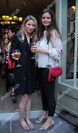 French Sole and Birchbox Summer Picnic at Number 16 Conservatory and Garden Sumner Place South Kensington West London Chelsea Coutts-wood & Lady Natasha Rufus Isaacs