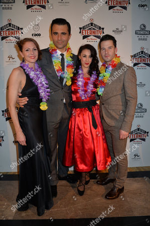 From Here to Eternity Press Night at the Shaftesbury Theatre and Freemasons Hall Darius Campbell Robert Lonsdale Siubhan Harrison Rebecca Thornhill