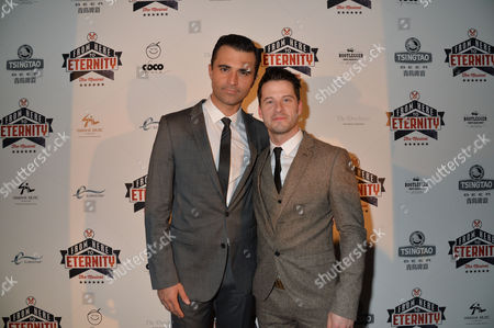 From Here to Eternity Press Night at the Shaftesbury Theatre and Freemasons Hall Darius Campbell & Robert Lonsdale