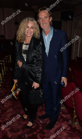From Here to Eternity Press Night at the Shaftesbury Theatre and Freemasons Hall Mike and Angie Rutherford