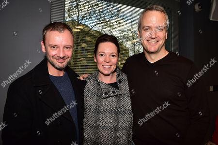 Gala Performance of 'Edward Scissorhands' at Sadler's Wells John Simm Olivia Colman with Her Husband Ed Sinclair