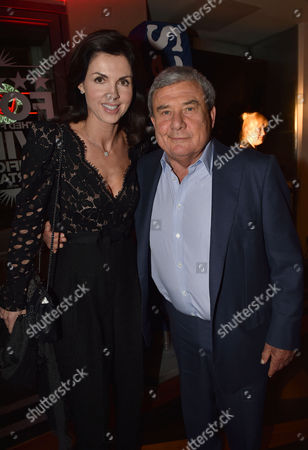 'Les Miserables' Musical 30th Anniversary at the Queen's Theatre Shaftesbury Avenue London and After Party at the Prince of Wales Theatre Coventry Street Sol Kerzner and Caroline Barclay