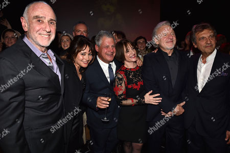 'Les Miserables' Musical 30th Anniversary at the Queen's Theatre Shaftesbury Avenue London and After Party at the Prince of Wales Theatre Coventry Street Claude-michel Schonberg Frances Ruffelle Cameron Mackintosh Patti Lupone Colm Wilkinson with Alain Boublil
