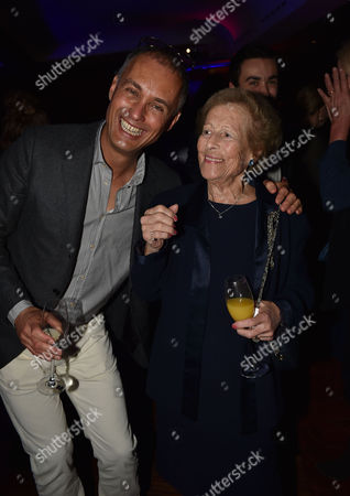 'Les Miserables' Musical 30th Anniversary at the Queen's Theatre Shaftesbury Avenue London and After Party at the Prince of Wales Theatre Coventry Street Michael Le Poer Trench & Diana Mackintosh