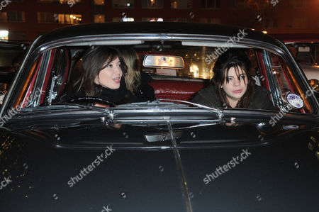 Galaxy Drive-in Cinema Presents 'Roman Holiday' at Doon Street Carpark Southbank Daisy Lowe and Martha Freud