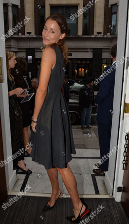 Gregory Peck Style Archive of an Icon Exhibition Private View at Huntsman Savile Row Georgina Rylance