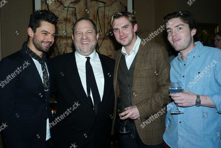 Editorial image of Harvey Weinstein Hosts A Vip Screening of 'The Artist' Vip Screening with Dolores Chaplin at the Charlotte Street Hotel - 11 Dec 2011
