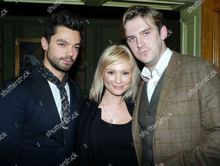 'The Artist' Vip Screening at the Charlotte Street Hotel Dominic Cooper Myanna Buring and Dan Stephens