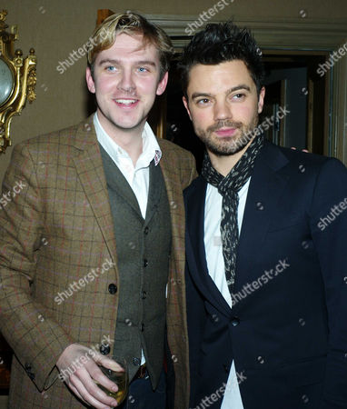 'The Artist' Vip Screening at the Charlotte Street Hotel Dan Stephens and Dominic Cooper