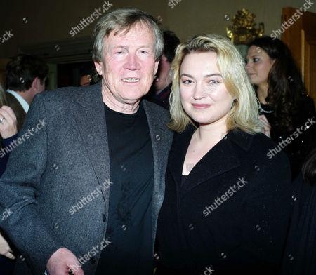 'The Artist' Vip Screening at the Charlotte Street Hotel Duncan Heath and Sophia Myles