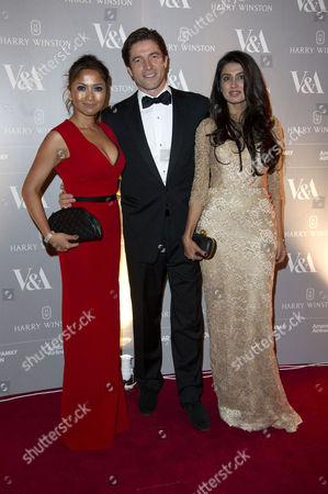 Hollywood Costume Dinner at the V&a Fatima Ajimal Frederic De Narp Ceo of Harry Winston and Naja Hariff