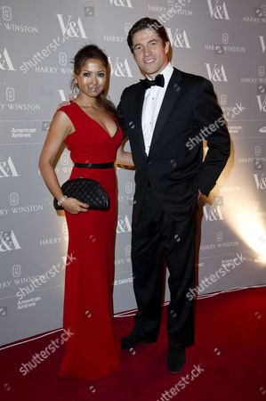 Stock Photo of Hollywood Costume Dinner at the V&a Fatima Ajimal and Frederic De Narp Ceo of Harry Winston