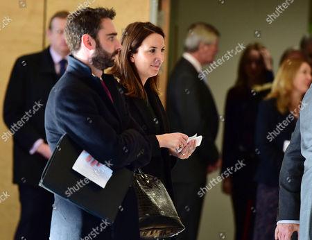 Hrh Catherine the Duchess of Cambridge Opens the Kensington Leisure Center Rebecca Deacon and Nick Loughran