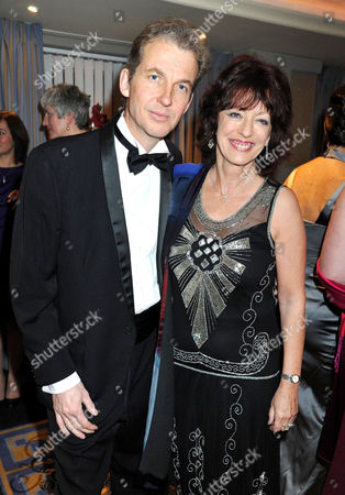 Inspirational Women of the Year Awards at the Marriott Hotel Grosvenor Square Bel Mooney with Her Husband