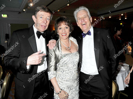 Inspirational Women of the Year Awards at the Marriott Hotel Grosvenor Square Henry Kelly Esther Rantzen Cbe and Nick Owen