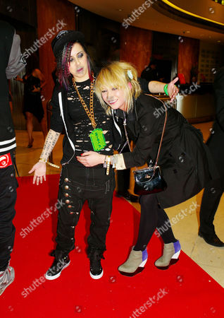 Stock Photo of Irock4haiti at the River Room Millbank Tower Millbank Ekaterina Ivanova and Lady Sovereign