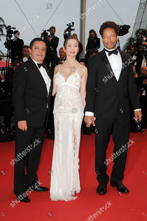 'Jimmy P Psychotherapy of A Plains Indian' Red Carpet at the Palais Des Festivals During the 66th Cannes Film Festival Isabella Orsini and Gary Dourdan