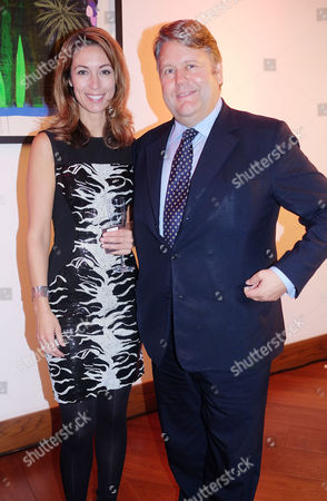 Obe Party at Avenue St James Street Emma Crosby and Lord Strathclyde