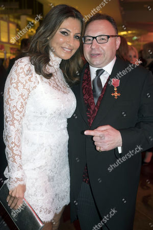 Jonathan Shalit Hosts A Party to Celebrate His Obe at Avenue St James Street Ella Krasner and Jonathan Shalit