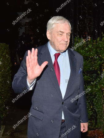 Stock Image of Lady Annabel Goldsmith Summer Party at Her Home Richmond Conrad Black