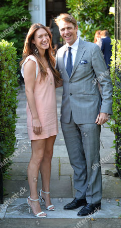 Lady Annabel Goldsmiths Summer Garden Party Ben Elliott and His Wife Mary–clare