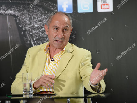 Launch of Fans All Stars Global Vote 2013 at the Old Burberry Building Haymarket London Ossie Ardiles
