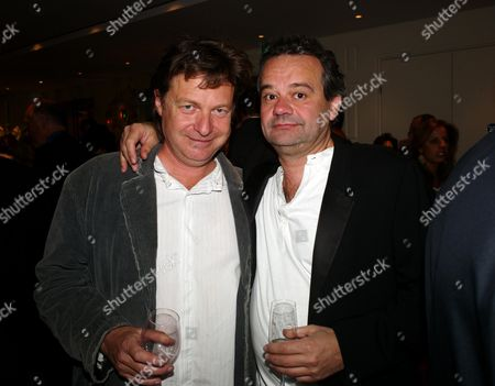 Book Launch Party For 'Sheer Opulence' at the Westbury Hotel Mayfair London Danny Moynihan and Mark Hix