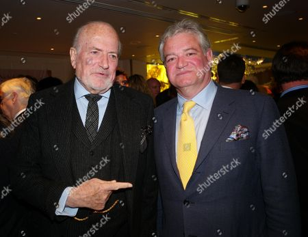 Book Launch Party For 'Sheer Opulence' at the Westbury Hotel Mayfair London Claus Von Bulow and Gavin Rankin