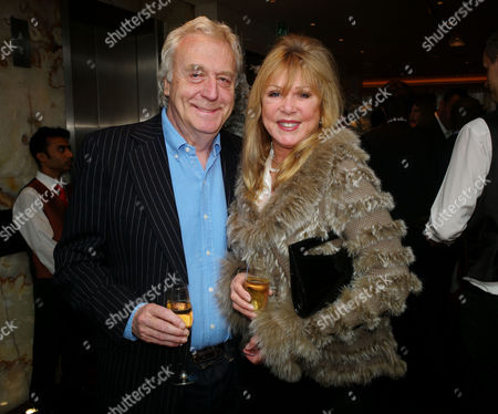 Book Launch Party For 'Sheer Opulence' at the Westbury Hotel Mayfair London Frank Lowe and Patti Boyd