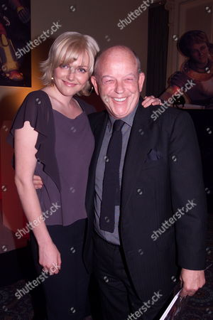 Stock Image of Sophie Dahl with Her Father Julian Holloway Who Voices the Character of Digby