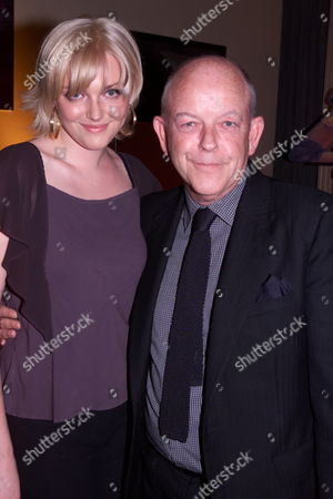 Stock Picture of Sophie Dahl with Her Father Julian Holloway Who Voices the Character of Digby