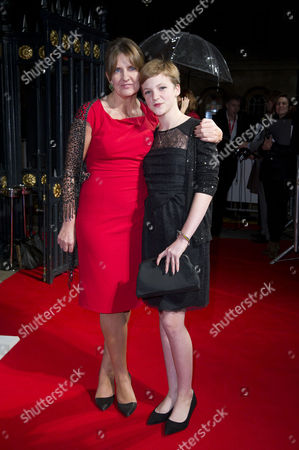 Bfi London Film Festival Awards at Banqueting House During the 56th Bfi London Film Festival Clare Burt with Her Daughter Eloise Laurence