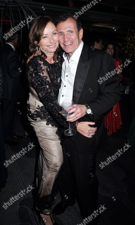 Lisa Tchenguiz's 50th Birthday Party at the Troxy Commerical Road East London Poju Zabludowicz with His Wife Anita Zabludowicz