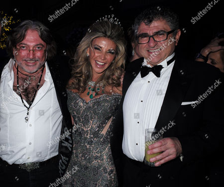 Lisa Tchenguiz's 50th Birthday Party at the Troxy Commerical Road East London Lisa Tchenguiz with Her Brothers Robert & Vincent Tchenguiz