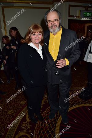 Gala Night For Michael Flatley's Lord of the Dance Dangerous Games at the Dominion Theatre Tottenham Court Road London Lesley Nicol and David Keith Heald