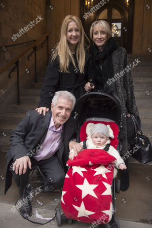 Lynda Bellingham Service of Thanksgiving at St Stephen's Church Walbrook London George Layton with His Family
