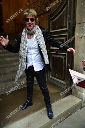 Stock Picture of Lynda Bellingham Service of Thanksgiving at St Stephen's Church Walbrook London Robin Askwith
