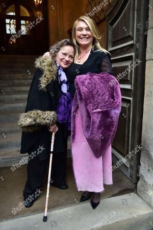 Lynda Bellingham Service of Thanksgiving at St Stephen's Church Walbrook London Sylvia Syms & Amanda Redman