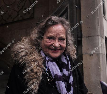 Lynda Bellingham Service of Thanksgiving at St Stephen's Church Walbrook London Sylvia Syms