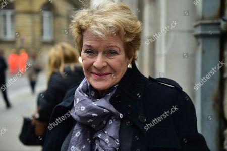 Lynda Bellingham Service of Thanksgiving at St Stephen's Church Walbrook London Janet Suzman