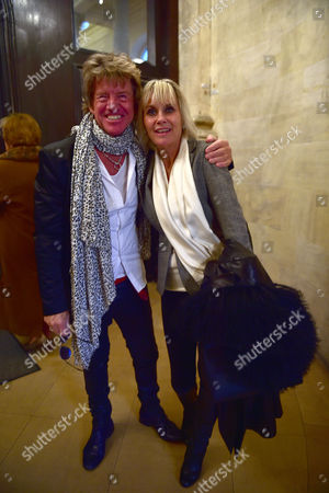 Lynda Bellingham Service of Thanksgiving at St Stephen's Church Walbrook London Robin Askwith with Confessions of A Films Co-star Linda Hayden