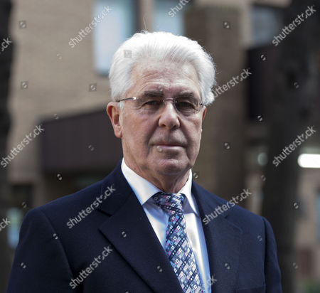 Max Clifford Arrives at Southwark Crown Court in London where He is Accused of Indecently Assaulting Teenage Girls Over A 20-year Period There Are 11 Counts Relating to Seven Alleged Victims Aged From 14 to 19 Between 1966 and 1985