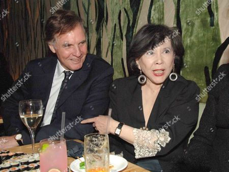 Party Following the Uk Premiere of Memoirs of A Geisha at Nubo Berkeley Berkeley Street London Jonathan Aitken with Tsai Chin